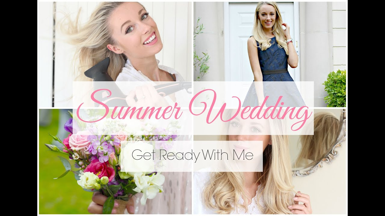 Get Ready With Me - Summer Wedding   Fashion Mumblr - YouTube