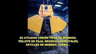 STEMM Cuchara Bivalva Electrohidraulica para BIOMASA