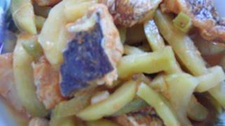 Панчай или панчан. Рецепт. Рыба с редькой. Korean food resipe.