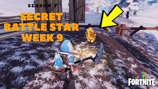 Fortnite - Season 7 Week 9 Snowfall Challenge Secret Battle Star Location in Loading Screen #9