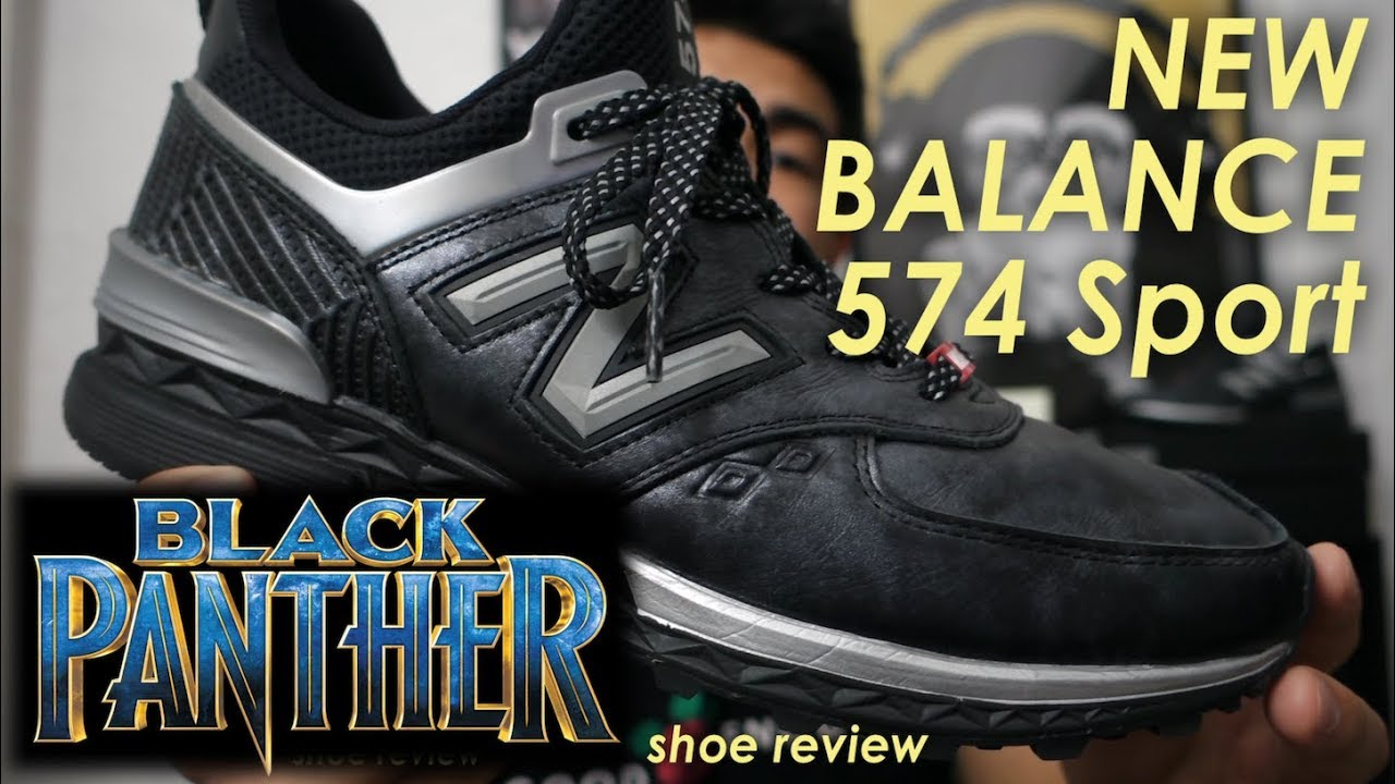 aae339f86a4 Favorite Marvel shoe: Black Panther x New Balance 574 Sport review