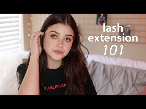 Lash Extension 101 | lindseyrem
