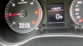 2012 Audi A3 1.6 TDI (105 HP) Drive & Sound