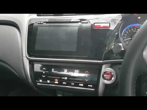 2017 honda city integrated navigation system