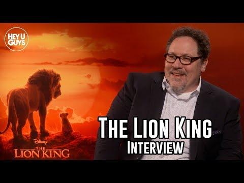 Director Jon Favreau Interview - The Lion King