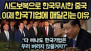 """사드보복으로 한국기업 무시한 중국이, 이제와 한국기업에 매달리는 이유. """"한국기업들이 뭘로 보이는지? 결국..."""""""