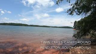 Twin Lakes Campground, Hartwell Lake, SC