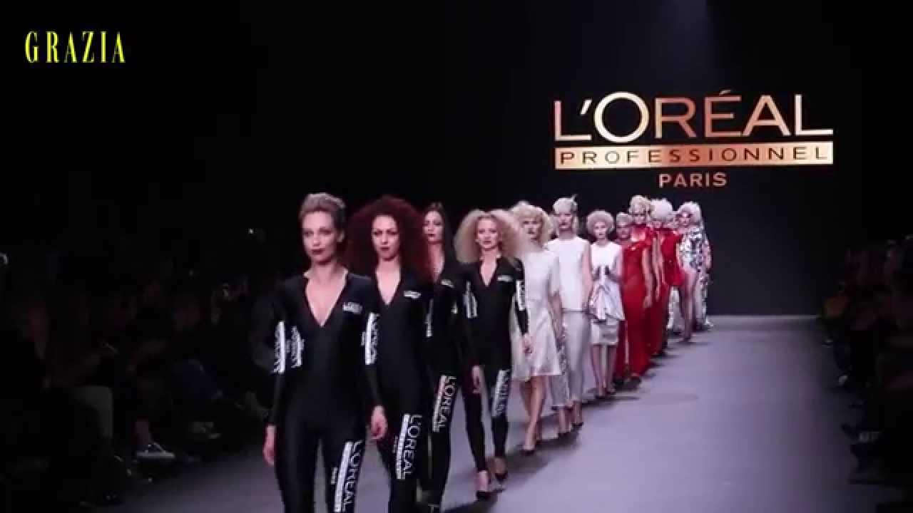 Mercedes Benz Fashion Week Amsterdam L 39 Oreal Professionnel Hair Youtube