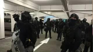 20190722 警方於林士街停車場搜尋示威者   TMHK News Live 新聞直播