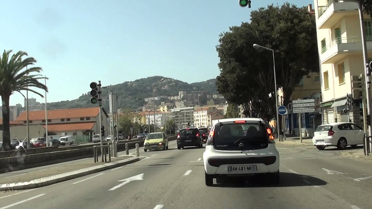 Driving In Corsica Ajaccio By Car Youtube