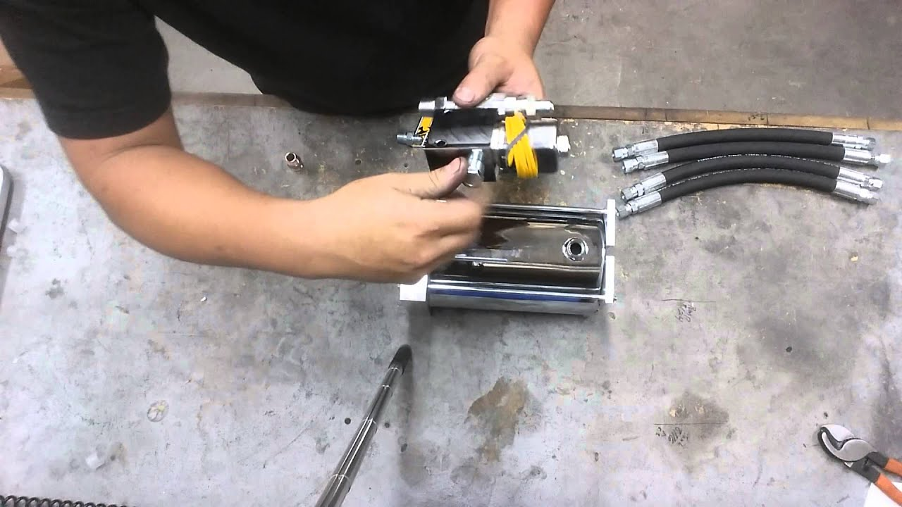 How To Assemble A Fbcc Hydraulic Fitting Kit Youtube Layitlow Wiring Diagram