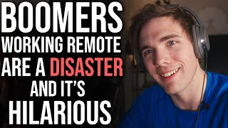 Boomers Working Remote Are a MESS ...and it's hilarious | #grindreel
