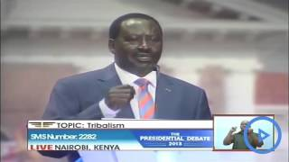 Uhuru and Raila, Dida and others to face off tonight