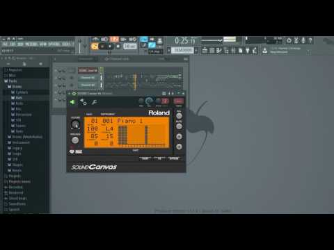 How To Play Midi File With Roland Sound Canvas VST Plugin Or Yamaha Xg