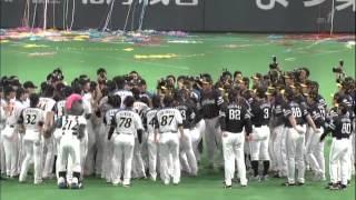 2012 10 19 小久保選手胴上げin札幌ドーム