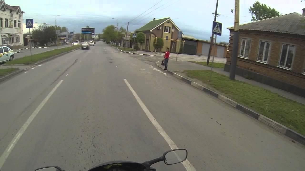 А говорят мотоциклисты дебилы