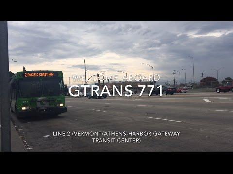 Gardena Trans 2010 New Flyer GE40LF #771 | Coin Lloyd's Transit Hub