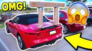 I CAN'T BELIEVE WE DID THIS TO MOOSECRAFT'S CAR!