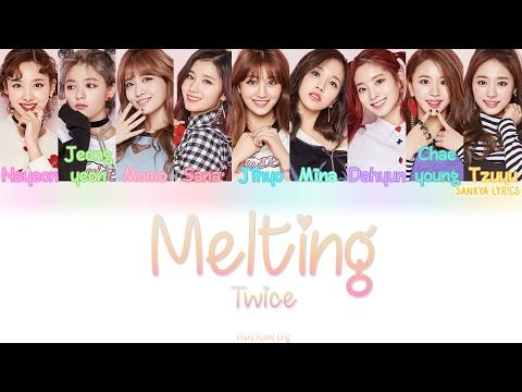 TWICE (트와이스)- Melting (녹아요) (Color Coded) (HAN/ROM/ENG) Lyrics