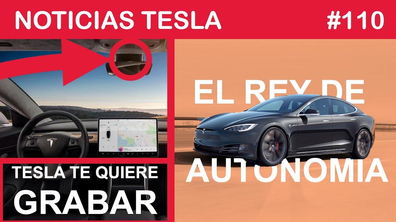 TESLA quiere GRABARTE - MODEL S con 645km de autonomía y PANELES SOLARES en primer plano.