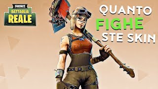 Quanto FIGHE ste skin. (Fortnite Battle Royale)