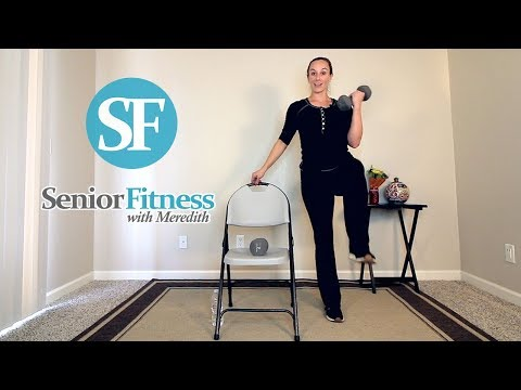 Senior Fitness Full Body Resistance Training Workout