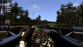 F1 2011 [PC Gameplay] Monza GP - Lewis Hamilton