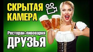 Кафе +и рестораны Минска СКРЫТАЯ камера ПИВОВАРНЯ ДРУЗЬЯ