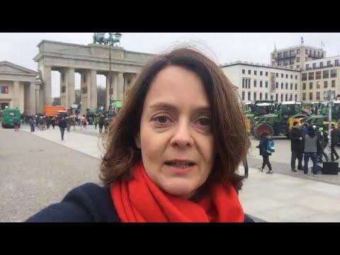 """Bauern Legen Berlin Lahm: Das Gegenstück Von """"Fridays For Future""""?"""