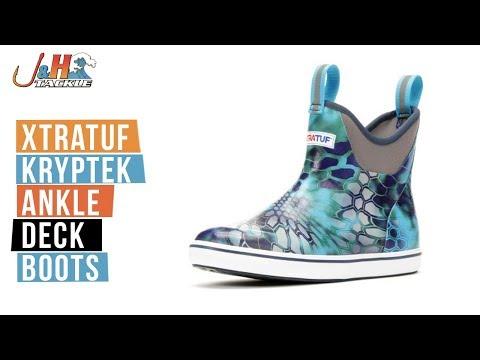 XTRATUF Kryptek Ankle Deck Boots | J&H Tackle