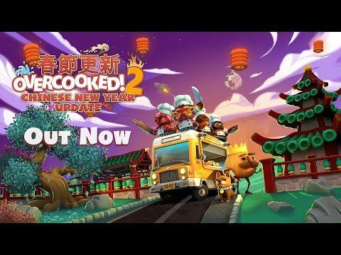 Overcooked 2 отмечает китайский Новый год новыми поварами, уровнями и режимом выживания
