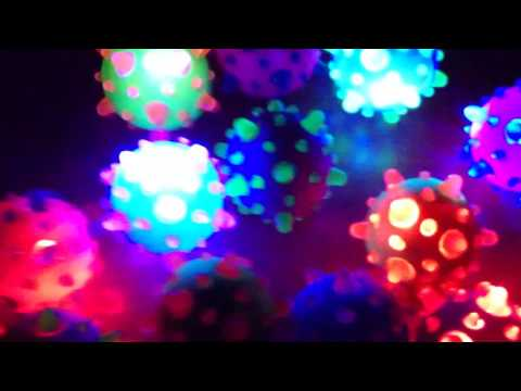 LED Gummiball Flummi