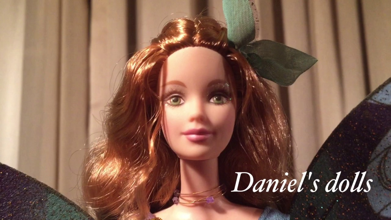 cheaper delicate colors most popular Fairy of the forest Barbie review - YouTube