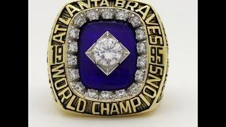 1995 Atlanta Braves World Series Championship Ring