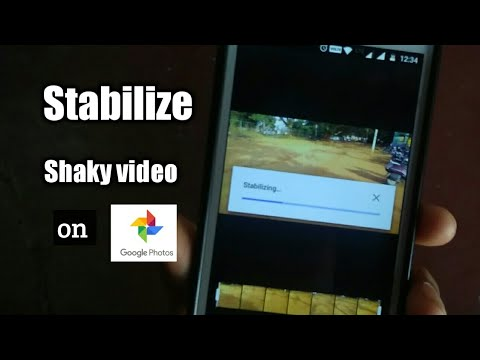 Stabilize your shaky video on Google photos