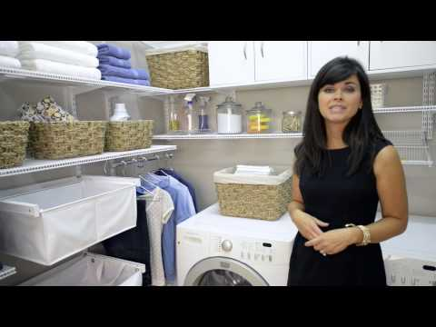 Quick Tips w/ Amanda Leblanc: Laundry Room Organization | OrganizedLiving.com