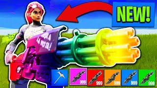 *NEW* MINI-GUN ONLY CHALLENGE in Fortnite: Battle Royale!