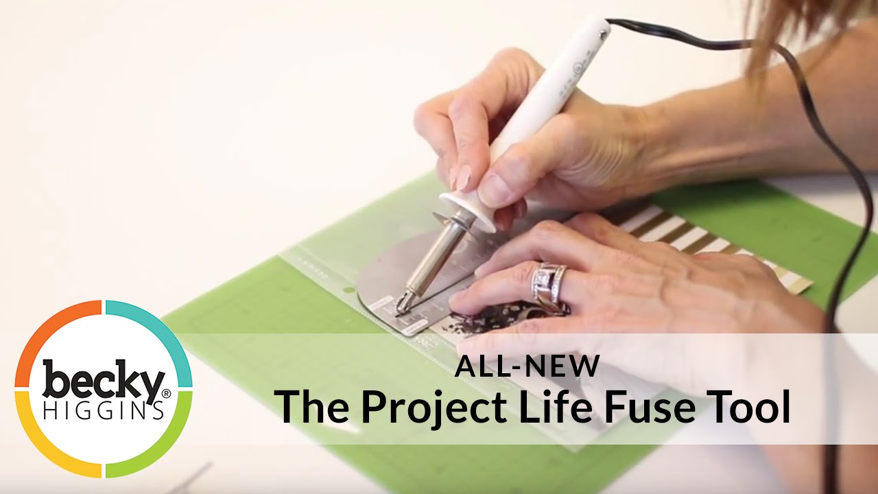 How to scrapbook with project life - Project Life Fuse Pocket Scrapbooking Fuse Tool