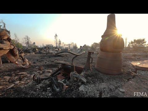 CA Wildfire Survivors Get Help