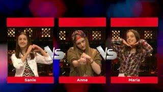 Sanie Vs Anne Vs Maria - Focus | Battle | The Voice Kids 2016