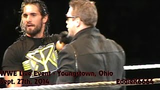 WWE Live Event - Youngstown, Ohio - Sept. 27. 2014