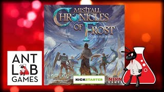 Chronicles of Frost Kickstarter Playthrough Preview
