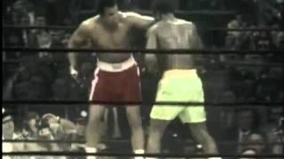 Muhammad Ali vs Joe Frazier Fight of the Century.