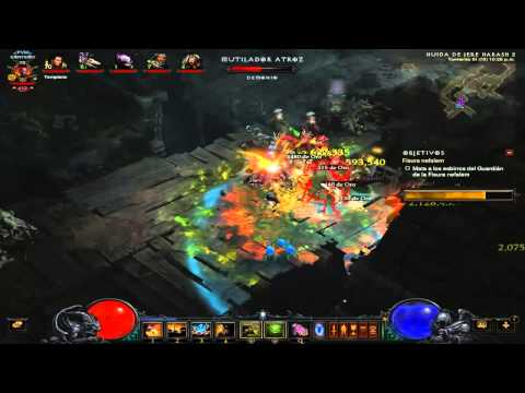 Diablo III Diablo 3 jugando fisuras RIFTS 0004