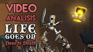 Vídeo Análisis/Review | LIFE GOES ON: DONE TO DEATH para PS4 y PC. Braid en la Edad Media