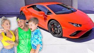 SURPRISING my FIANCE with his DREAM CAR!!   *2020 LAMBORGHINI HURACAN*