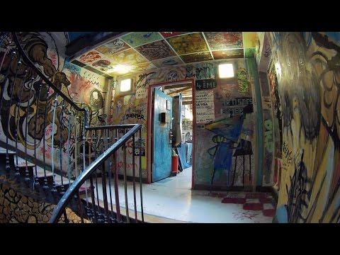 Le 59 RIVOLI collectif d'artistes, visite - Paris 2016 59rivoli.org Git2 Gitup art squat