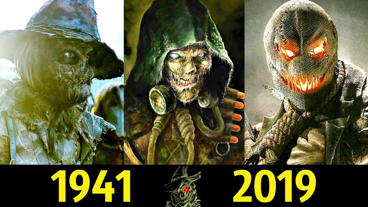 😱 Пугало - Эволюция (1941 - 2019) ! Все Появления Джонатана Крейна 👻!