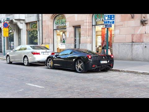 Carspotting Helsinki, Finland 2.8.2019 | 2x 458, Continental GT, M2,...