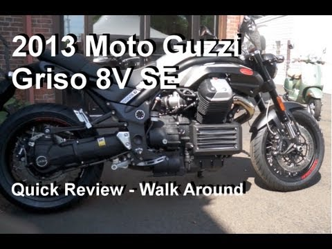 Moto Guzzi Griso Review Youtube